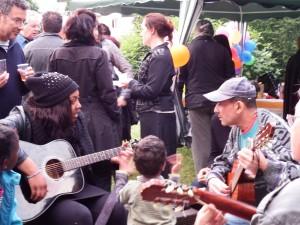 les guitaristes du Ponceau