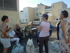 distribution des paniers en juin